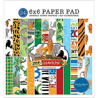 Carta Bella Zoo Adventure 6x6 Inch Paper Pad