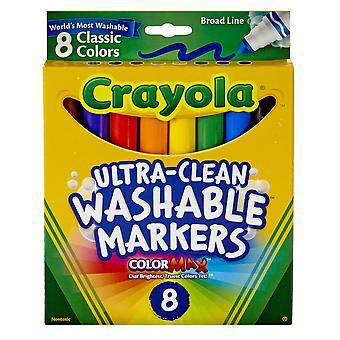 Crayola waschbare Formel Marker, Konische Spitze, 8 klassische Farben