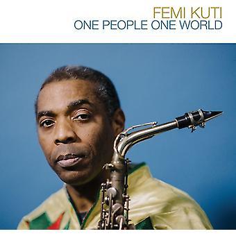 Femi Kuti - One People One World [CD] Etats-Unis importation