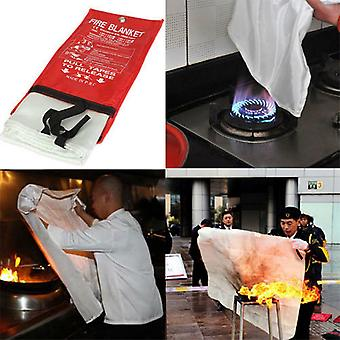Fire Emergency Blanket Survival Fiberglass Shelter Safety Cover