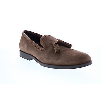 Geox U Kaspar Mens Brown Loafers & Slip Ons Chaussures à pompons