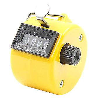 Number Counters, Plastic Shell, Hand Finger Display, Manual Counting, Tally