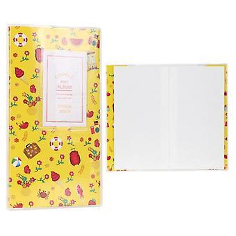 84 kapsy Foto container - Mini Album Storage Case Sbírání vzpomínek Kniha