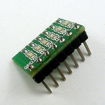 Dc 3.3v, 5-12v & 6 Bits Multicolor Rapid Prototyping Led 2.54mm Pin 0603