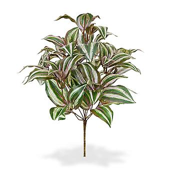 Keinotekoinen Tradescantia Zebrina kimppu 40 cm
