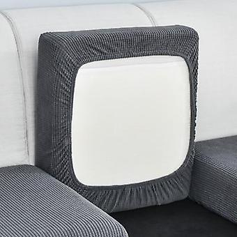 Tampa do sofá de cor sólida protetor elástico protetor