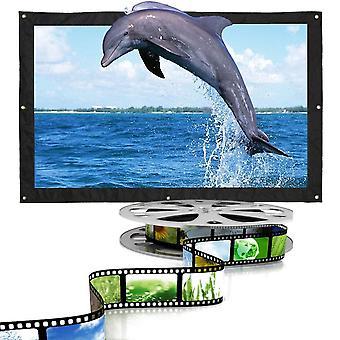 Opvouwbare projectieschermrandprojector, audiovisueel thuisscherm