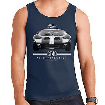 フォード GT 40 クイントエッセンシャル アメリカン カー メン&アポス