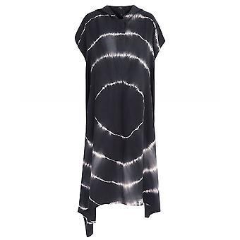 NU Silk Hooded Tie Dye Dress