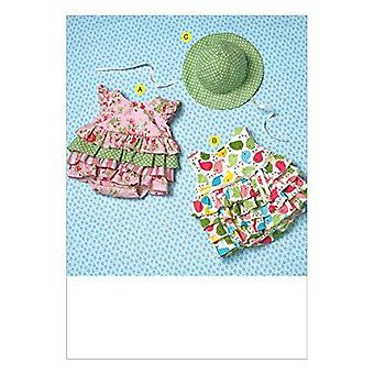 Kwik Sew Sewing Pattern | K4094 | Baby Rompers and Hat | S - XXL