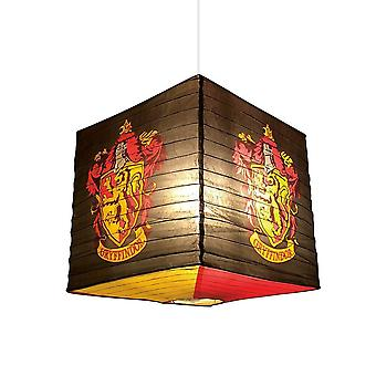 Harry Potter Gryffindor Crest Cube Paper Light Shade