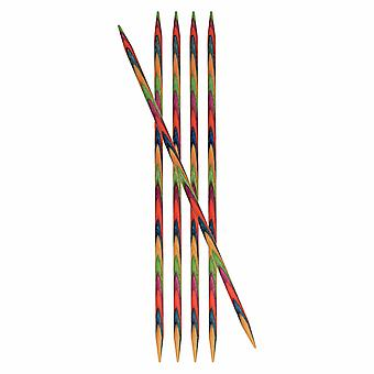 KnitPro Symfonie: Knitting Pins: Double-Ended: Set of Five: 15cm x 5.50mm