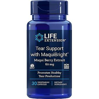 Life Extension Tear Support mit MaquiBright (Maqui Berry Extract) 60mg Vegicaps 30