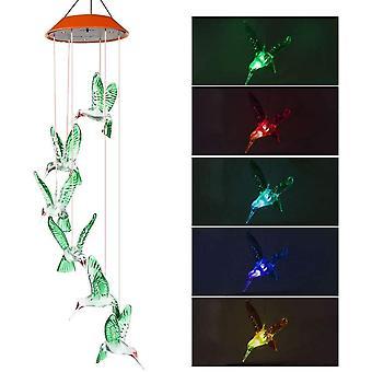 Wokex Windspiele fr Drauen, Windspiel Solar Gartenleuchte Gartenbeleuchtung Solarleuchte Deko Garten