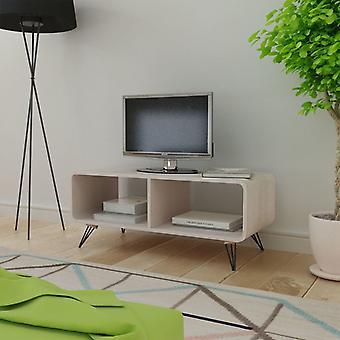 vidaXL TV armoire 90x39x38,5 cm bois gris