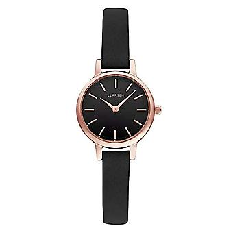 LLARSEN Analogueic Watch Quartz Woman with Leather Strap 145RBR3-RCOAL8