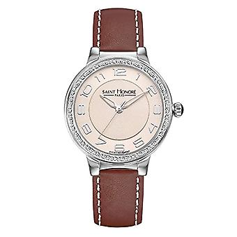Saint Honore Analog Quartz Watch for Women with Leather Strap 7220531BGBN