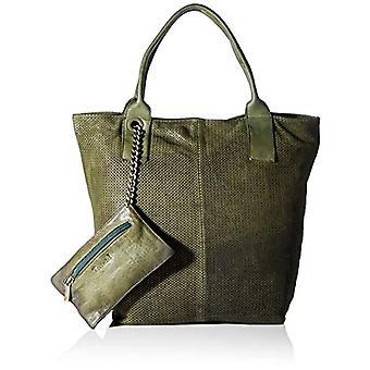 Pensez ! Sac à main femme en pelle_3-000383 Shopper, taille unique, Vert (7000 olives),taille unique