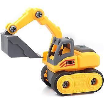 FengChun Nehmen Sie Apart Construction Toys für Jungen im Alter von 4,Building Spielzeug für 3 Jahre alte Jungen Bagger Spielzeug