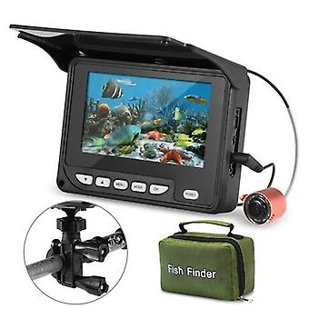 4.3 Inch Portable Underwater Fishing Camera Fish Finder Waterproof Night Vision Ice Boat Fishing Camera 20M Cable with Carry Bag