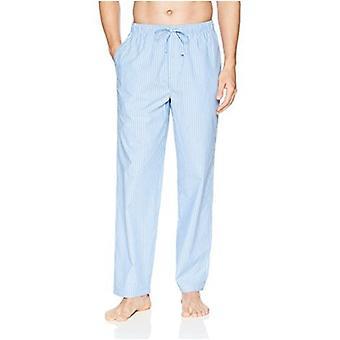 Essentials Heren Straight-Fit Geweven Pyjama Broek