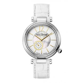 Watch Women Saint Honor 7620211YAIT-F - Strap Leather White