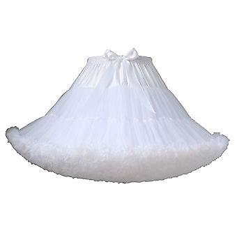 Girls Puffy Short Tutu Skirts, Costume Multi-layer Petticoat