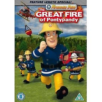 Fireman Sam The Great Fire of Pontypandy DVD