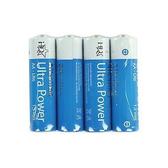 HQ Alkaline AA Batteries 1.5V 4Pk