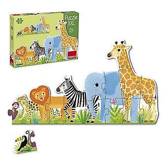 Child's Puzzle Diset XXL Jungle (16 Pieces)