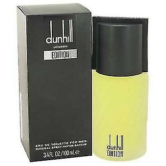 Dunhill Edition By Alfred Dunhill Eau De Toilette Spray 3.4 Oz (men)