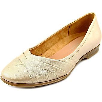 Naturalizer Womens jaye läder stängd tå balett lägenheter