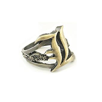 הערת מוות טבעת אנימה טבעת אבץ סגנון אצבע טבעת עבור Cosplay