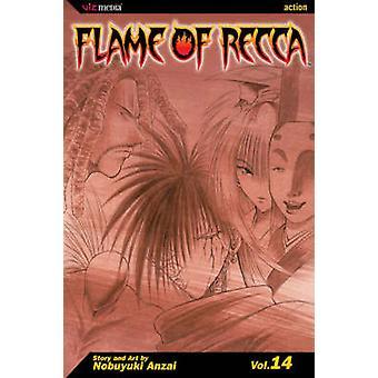 Flame of Recca Vol. 14 by Nobuyuki Anzai
