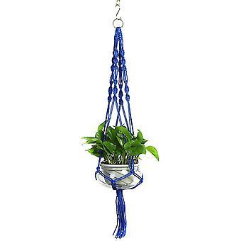- Jag är inte så bra på det här. Växt hängare Macrame hängande planter korg rep blomma kruka hållare trädgård dekoratorer