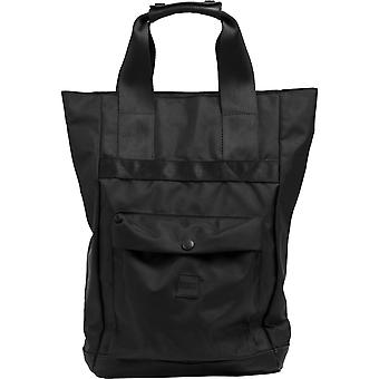 Urban classics - CARRY HANDLE back pack backpack black