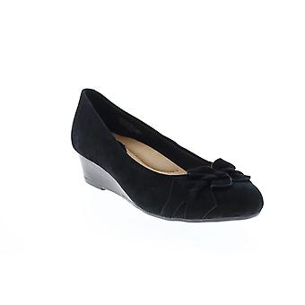 Terre Femmes Adultes Teaberry Suede Coins Talons