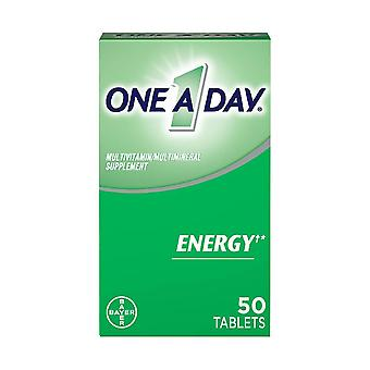One a day energy multivitamins for men & women, tablets, 50 ea