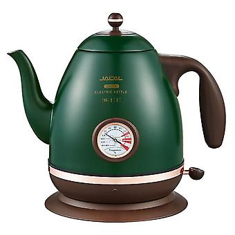 Electric kettle 1500w household 220v quick heating boiling coffee tea pot 1.2l 304 stainless steel  samovar