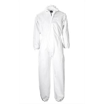 Portwest Mens Standard Workwear Coverall PP White M (Pack of 120)
