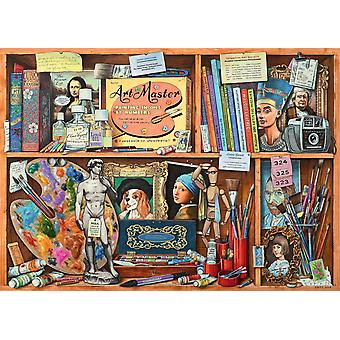 Ravensburger The Artist's Cabinet Jigsaw Puzzle (1000 Pieces)