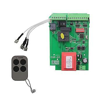 Garage door openers sliding gate opener control board motor control panel for automatic door