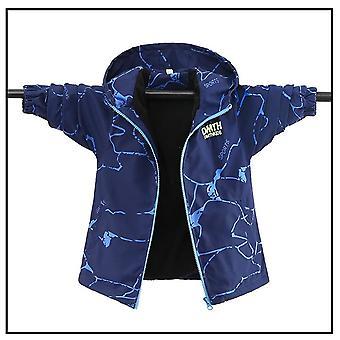 Children's Double-sided Wear Jacket, Waterproof Windproof Jacket