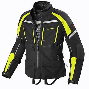 Spidi GB CE H2OUT Armakore JKT BLK Fluo Yell S D193 486