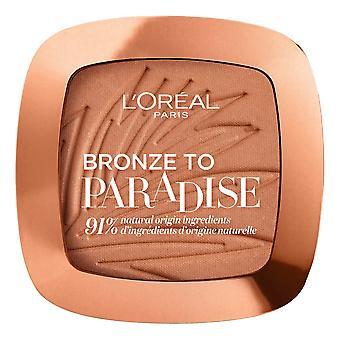 Bronzing Powder Bronze to Paradise L'Oréal Paris 02-baby one more tan