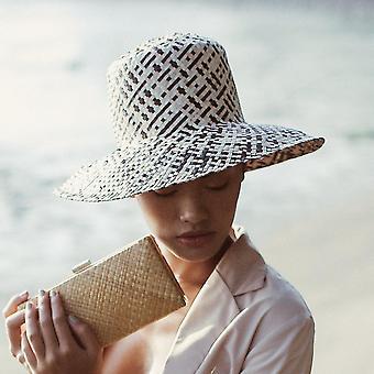 Lontar szalma vödör kalap