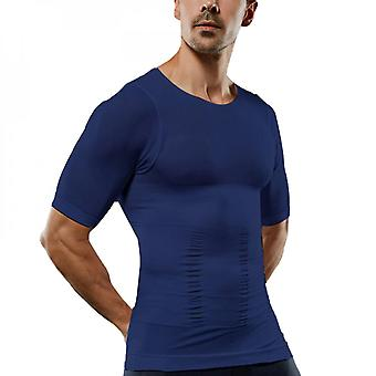 Men's Compression Base Layer Tops T-shirt Short Sleeve Shirt Muscle Tee Slimming
