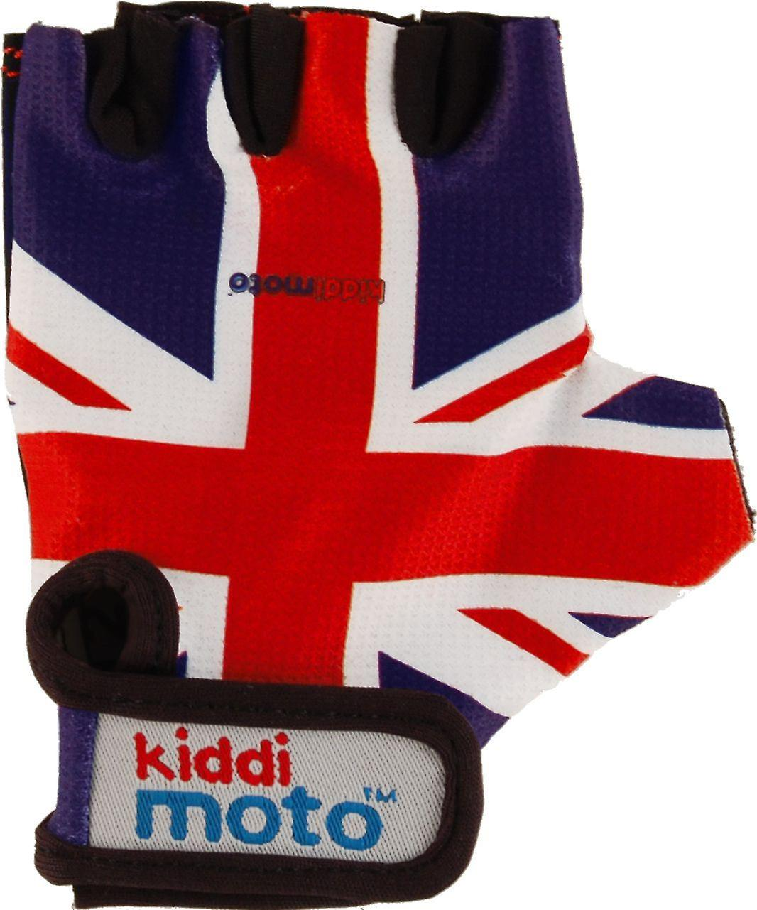 Kiddimoto Cycling Gloves Union Jack
