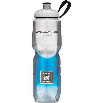 الرياضة زجاجة القطبية معزولة زجاجة مياه أوز 24-تتلاشى الأزرق