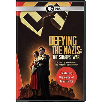 Defying the Nazis: Sharps War [DVD] USA import